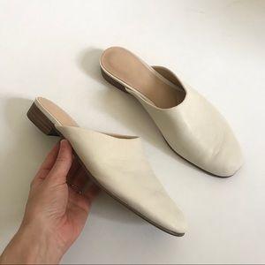 Clarks Pure Blush White Leather Slip On